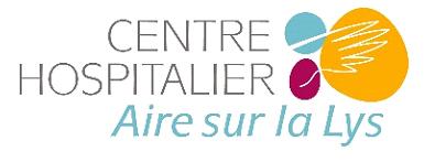 Logo Centre Hospitalier Aire sur la Lys